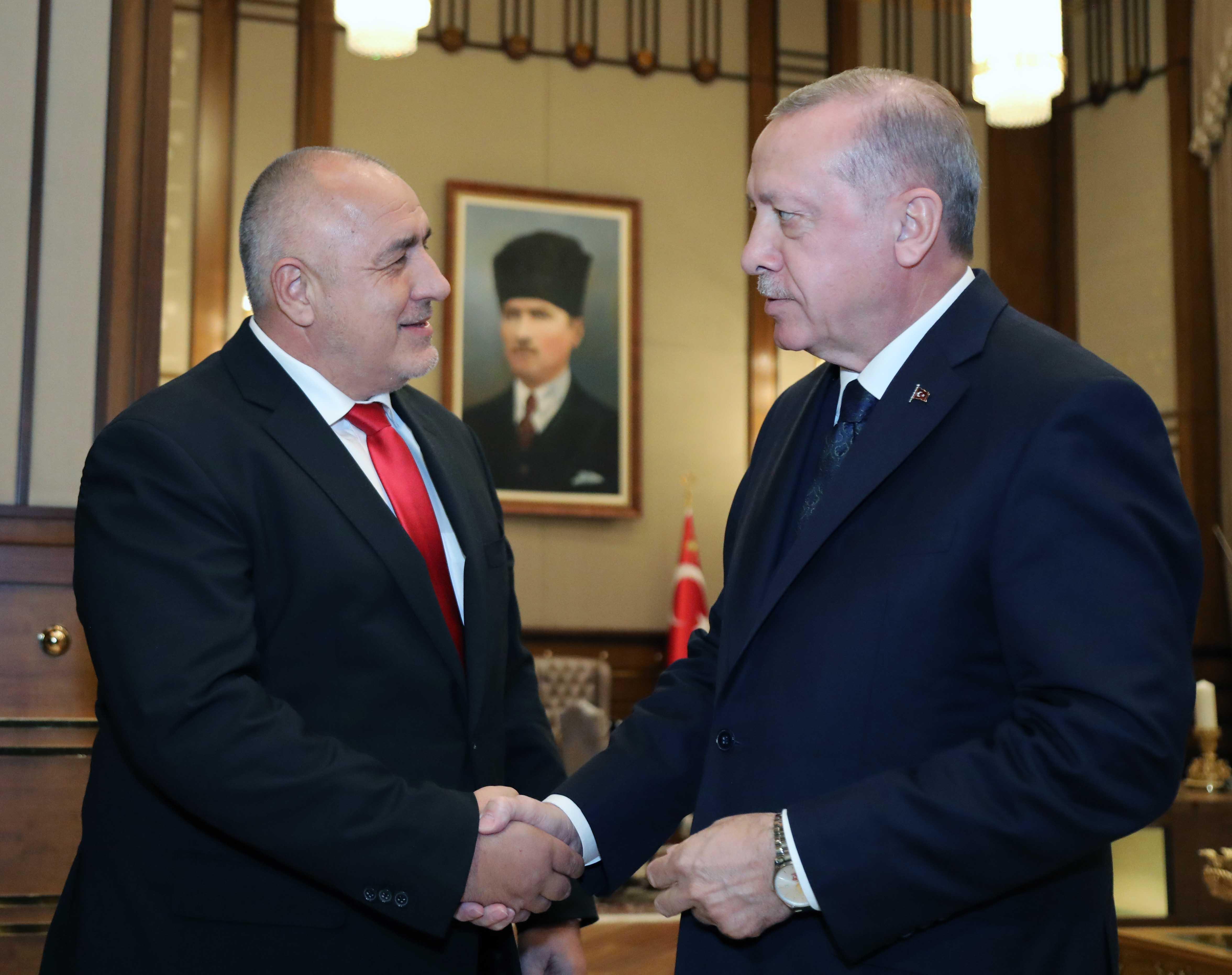 Ердоган след срещата с Борисов: Убедихте ме, идвам в петък в София!