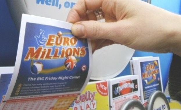 """Британец грабна джакпота от 168 млн. долара в """"Евромилиони"""""""