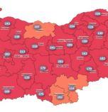 Три области вече са извън червената зона