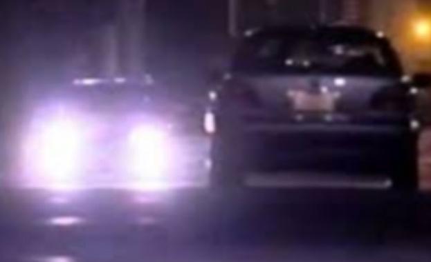 Зрелищна гонка в София: Патрулка преследва такси