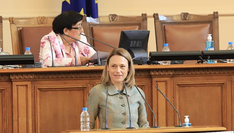 Избраха Ива Митева за председател на 46-тото Народно събрание
