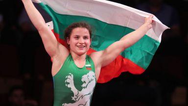 Биляна Дудова стана световна шампионка по борба