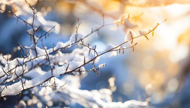 Чака ни топла зима, сняг още през декември